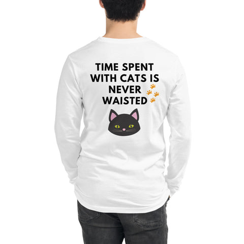 Time Spent With Cats - Unisex Long Sleeve - KICKI´S SHOP