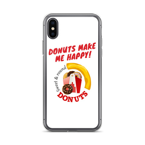 Donuts Make Me Happy - iPhone Case - KICKI´S SHOP