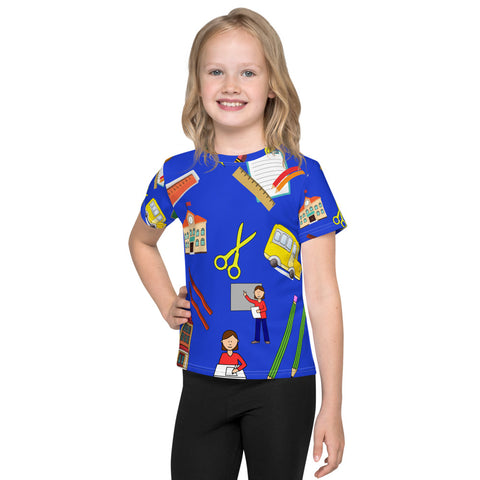 Back To School Things All Over - Kids T-Shirt - KICKI´S SHOP