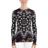 Black Star All Over - Women's Long Sleeve - KICKI´S SHOP