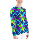 Colored Stars All Over - Women's Long Sleeve - KICKI´S SHOP