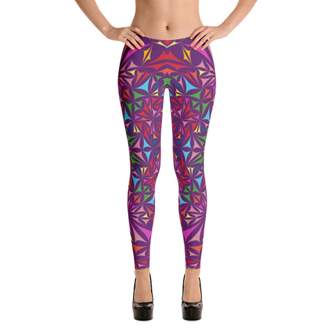 Kaleidoscope All Over - Women´s Leggings - KICKI´S SHOP