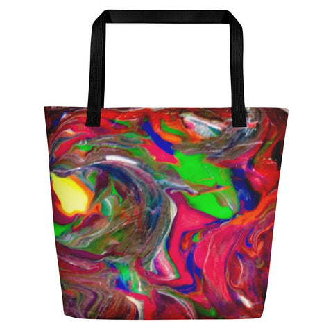 Mixed Colors All Over - Beach Bag - KICKI´S SHOP