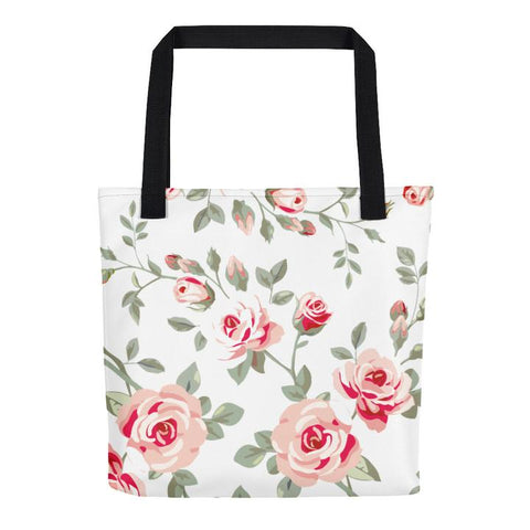 Laura´s Flowers All Over - Tote Bag - KICKI´S SHOP