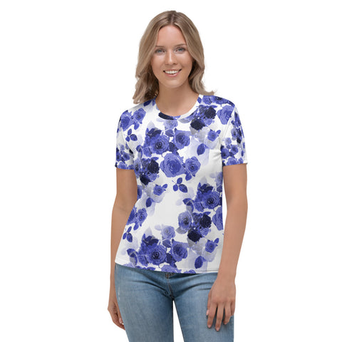 Best Rose Flower T-Shirt For Women - KICKI´S SHOP