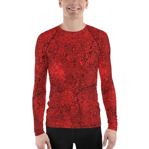 Red And Cool All Over - Men´s Long Sleeve - KICKI´S SHOP