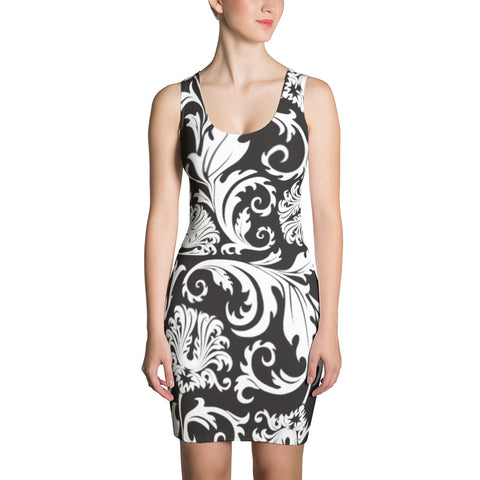 Black Angel All-Over - Women´s Dress - KICKI´S SHOP