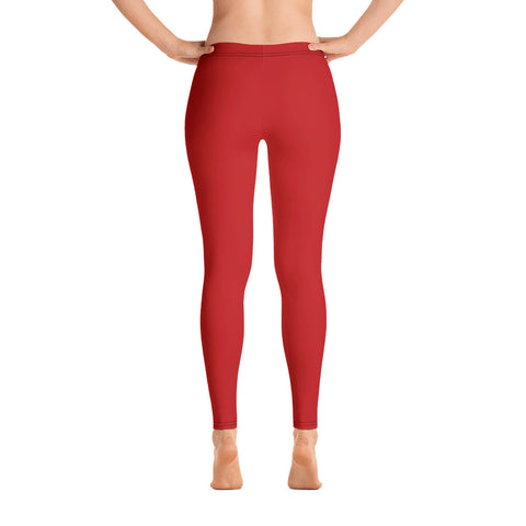 Red And Black All Over - Women´s Leggings - KICKI´S SHOP
