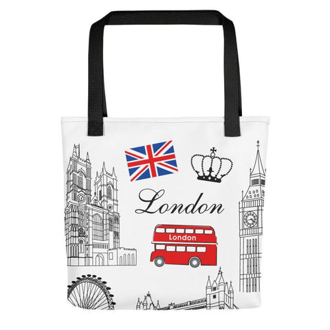 London All Over - Tote Bag - KICKI´S SHOP