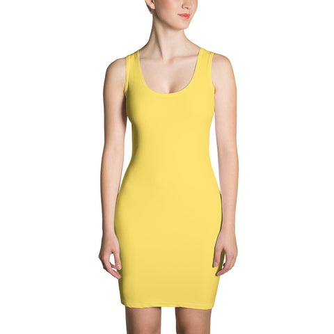 Pastel Yellow Dress - KICKI´S SHOP