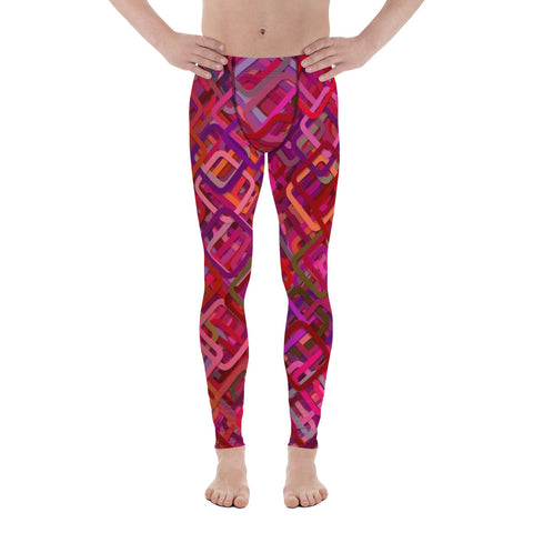 Fantasy Colors All Over - Men's Leggings - KICKI´S SHOP