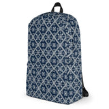 Blue Batik All-Over - Backpack - KICKI´S SHOP