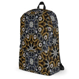 Gold And Silver Stars All-Over – Backpack - KICKI´S SHOP