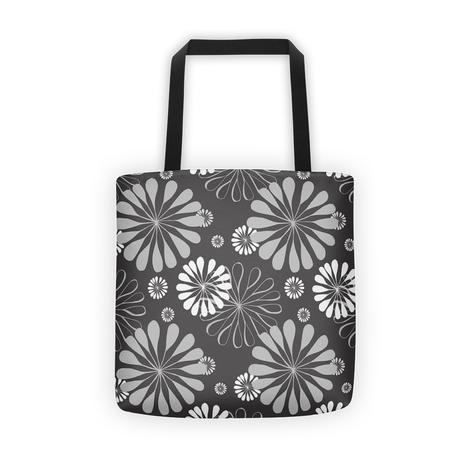 Flora Flowers All Over - Tote Bag - KICKI´S SHOP