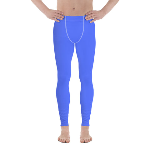 Blue  - Men´s Running Tights - KICKI´S SHOP