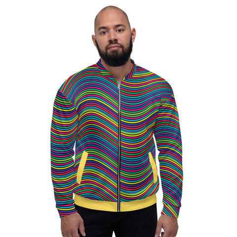 Rainbow - Men´s Bomber Jacket - KICKI´S SHOP