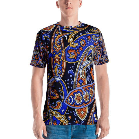 Blue Allan All Over - Men's T-Shirt - KICKI´S SHOP