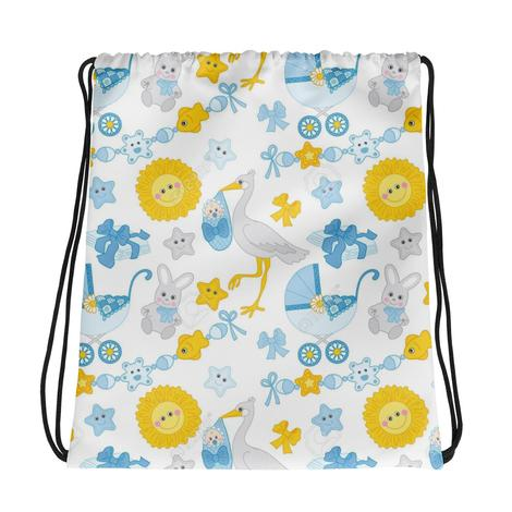 Baby Drawstring Gift Bag - KICKI´S SHOP