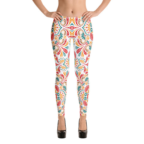 Kate´s Mandala All Over - Women´s Leggings - KICKI´S SHOP