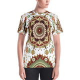 Brown Mandala All Over - Women´s T-Shirt - KICKI´S SHOP