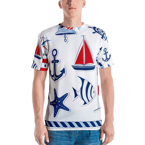 Love The Sea All Over - Men's T-Shirt - KICKI´S SHOP