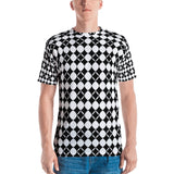 Black Magic Squares All Over - Men's T-Shirt - KICKI´S SHOP