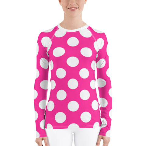 Pink Rosie All Over - Women's Long Sleeve - KICKI´S SHOP