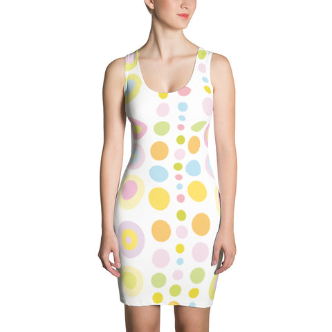 Colored Dots All-Over - Women´s Dress - KICKI´S SHOP