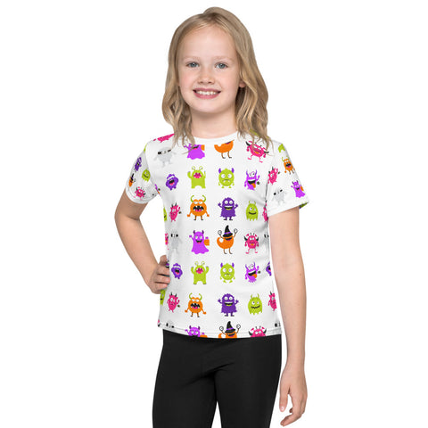 Little Monsters All Over - Kids T-Shirt - KICKI´S SHOP