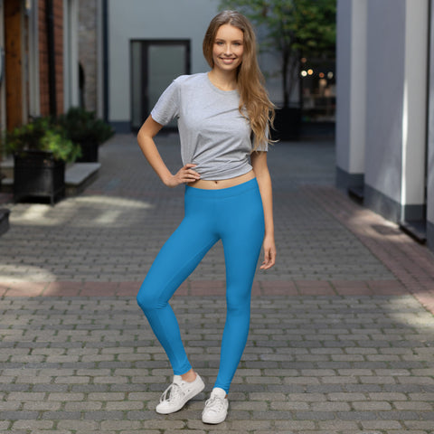 Blue All-Over - Women´s Sports Leggings - KICKI´S SHOP