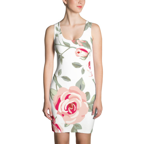 Laura´s Flowers All Over - Women´s Dress - KICKI´S SHOP