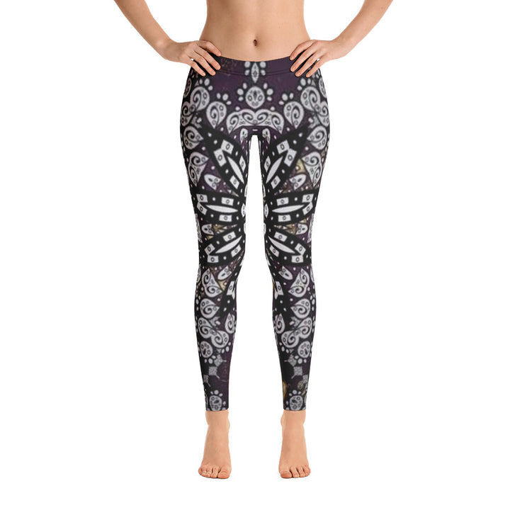 Black Star All Over - Women´s Leggings