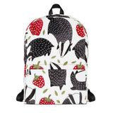 Badgers All Over - Backpack - KICKI´S SHOP