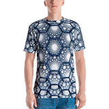 Blue Bubbles All Over - Men's T-Shirt - KICKI´S SHOP