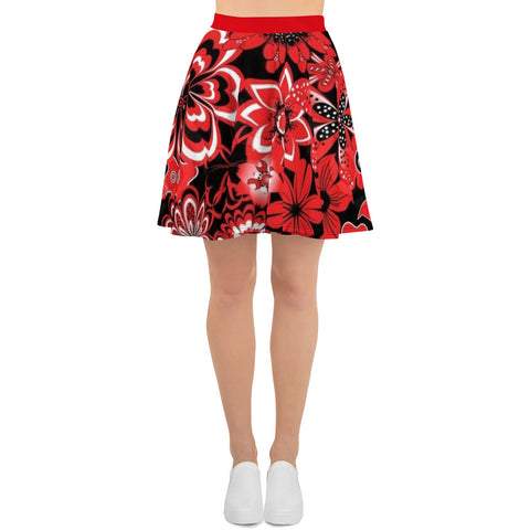 Red Lady - Women´s Skater Skirt - KICKI´S SHOP