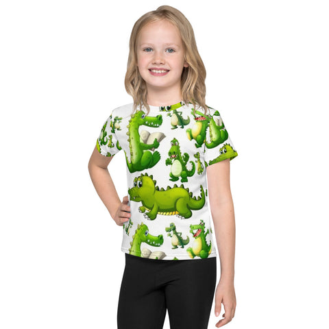 Crocodile All Over - Kids T-Shirt - KICKI´S SHOP