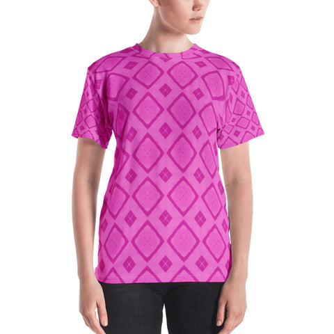 Hot Pink All Over - Women's T-Shirt - KICKI´S SHOP