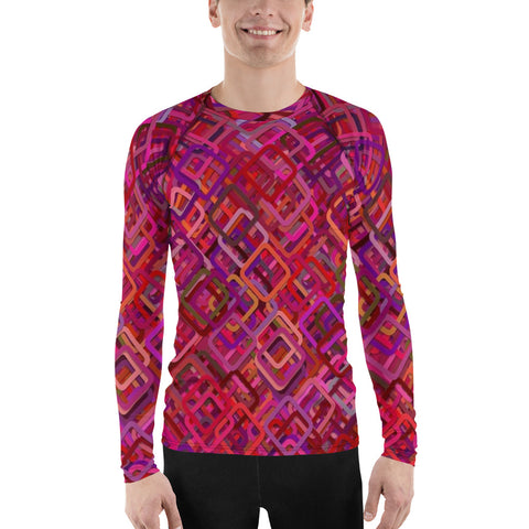 Fantasy Colors All Over - Men's Long Sleeve - KICKI´S SHOP