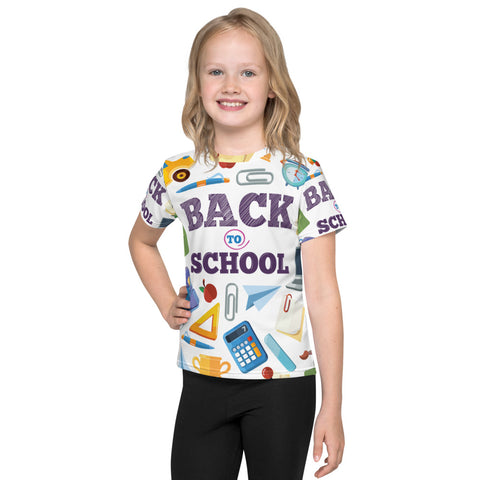 Back To School All-Over - Kids T-Shirt - KICKI´S SHOP