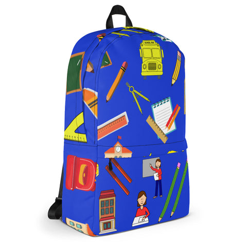 Back To School Things All Over - Backpack - KICKI´S SHOP