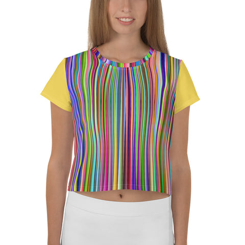 Striped Crop Top Tank - KICKI´S SHOP