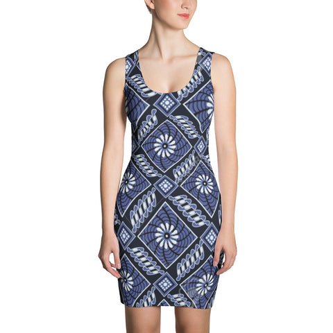 Blue Angel All Over - Women´s Dress - KICKI´S SHOP