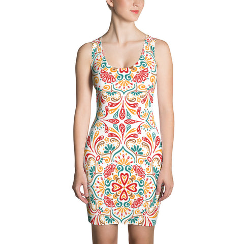 Kate´s Mandala All Over - Women´s Dress - KICKI´S SHOP