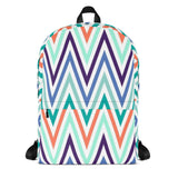 Colored Stripes All Over - Backpack - KICKI´S SHOP