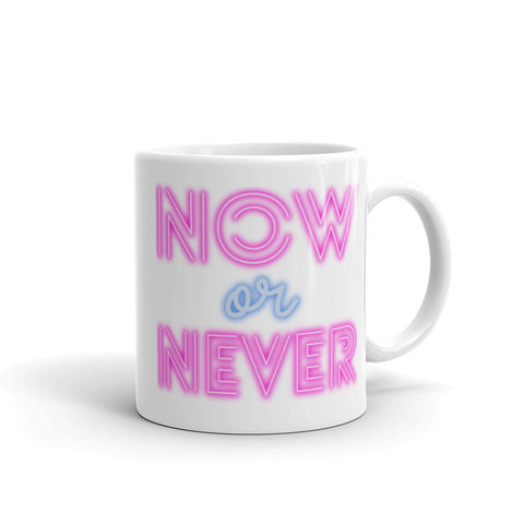 Now Or Never - Coffee Mug - KICKI´S SHOP