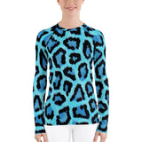Blue Leopard - Long Sleeve For Women - KICKI´S SHOP