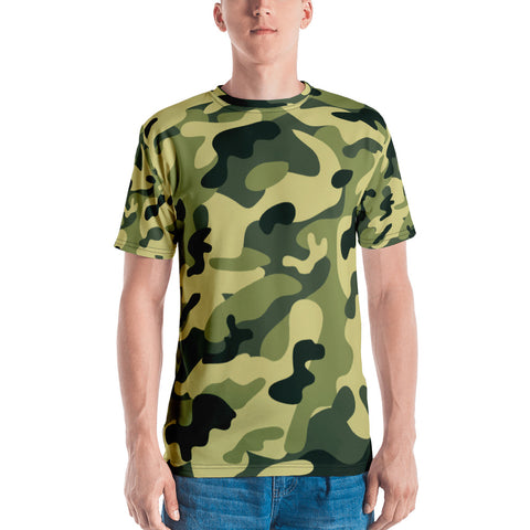 Military Camouflage All Over - Men's T-Shirt - KICKI´S SHOP
