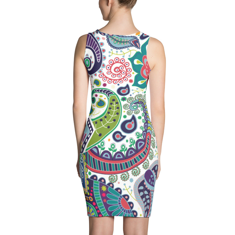 d283c4dd45b ... Wild Flowers All Over - Women´s Dress - KICKI´S SHOP