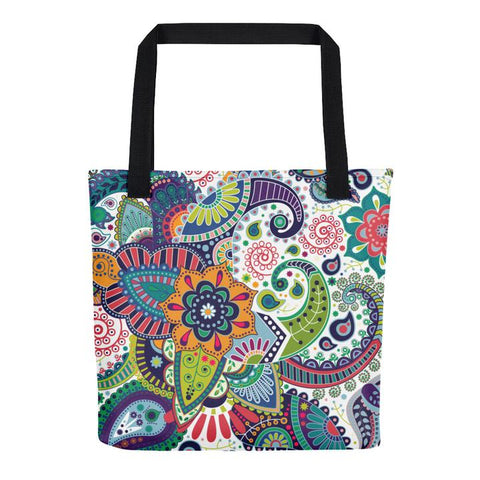 Wild Flowers All Over - Tote Bag - KICKI´S SHOP