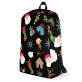 Christmas All Over - Backpack - KICKI´S SHOP